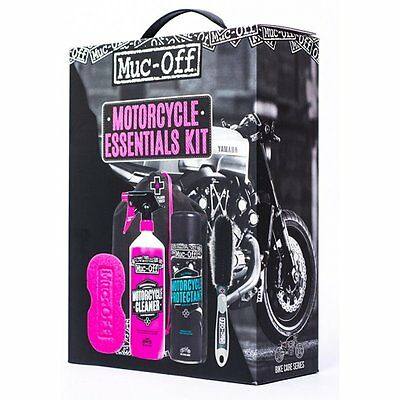 Muc Off Motorcycle Care Essentials Kit