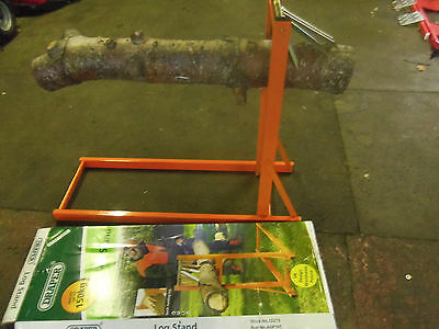 Draper Log Stand Saw Horse For Chainsaw Wood Cutting & Chopping 32273