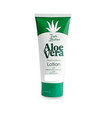 Triple Lanolin Aloe Vera Hand & Body Lotion 20ml 3/4oz TRAVEL SIZE
