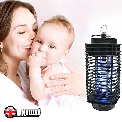 Electric Mosquito Fly Bug Insect Zapper Killer + 220V Trap Lamp Indoor Outdoor