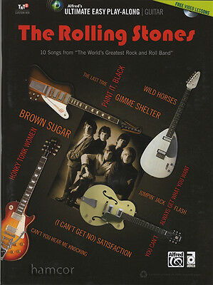 The Rolling Stones Ultimate Easy Play-Along Guitar TAB Book/DVD Set