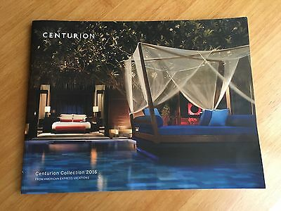 Centurion Collection 2016 American Express Vacations Magazine Amex Black Card
