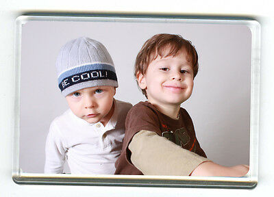 Blank Jumbo Fridge Magnets, 96mm x 66mm, ready to insert your photo's