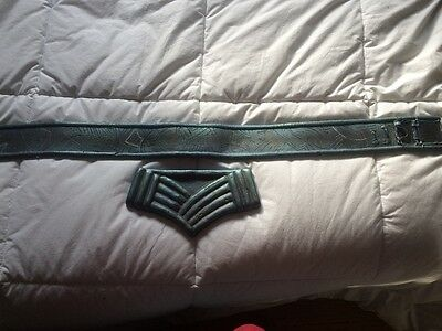 Stargate SG-1 Aris boch Jaffa armour belt and buckle screen used back ups