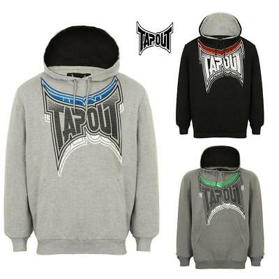 Tapout Men's  Hoodie size Large MMA Cage Fighting Training Casual Top 3 Colours