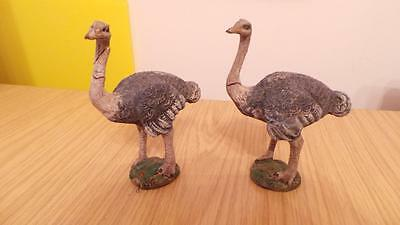 P102: Elastolin Composition Ostriches x 2
