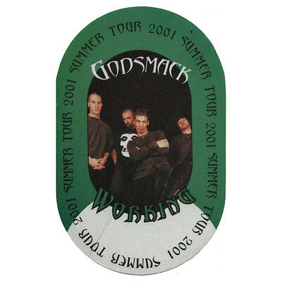 Godsmack authentic Working 2001 tour Backstage Pass