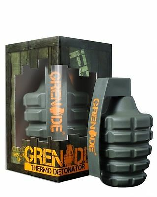 Grenade Thermo Detonator Fat Burner Weight Loss Formula 100 Caps