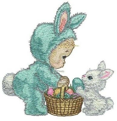 20 Easter Designs for Machine Embroidery