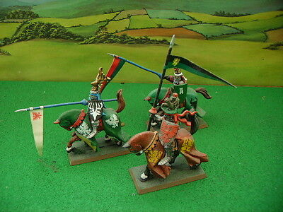 Model Knights On Horses For Battle/tournaments Model Soldiers