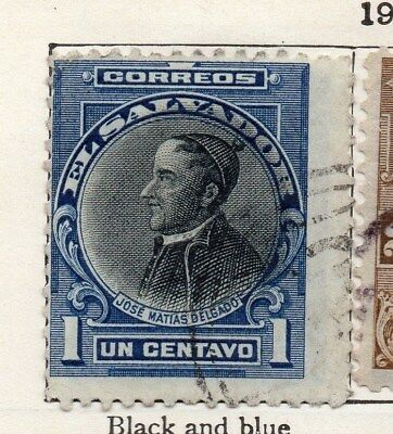 El Salvador 1912 Early Issue Fine Used 1c. 120582