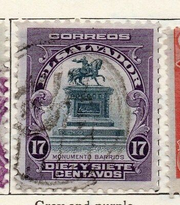 El Salvador 1912 Early Issue Fine Used 17c. 120587