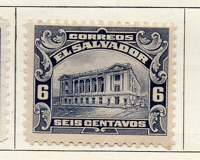 El Salvador 1916 Early Issue Fine Mint Hinged 6c. 120601