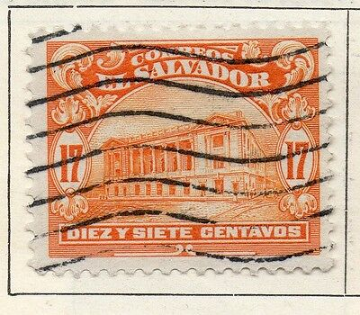 El Salvador 1916 Early Issue Fine Used 17c. 120602