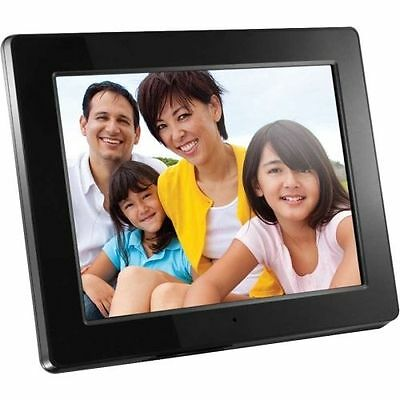 """New Aluratek 12"""" High Resolution Digital Photo Frame 4GB LCD Picture Electronic"""