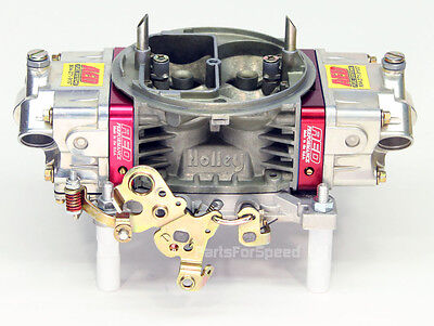 AED 750HO Holley Double Pumper TEST Carb Street / Race 750 Billet Blocks SBC SBF