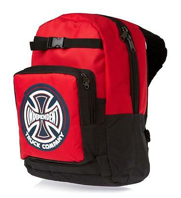 INDEPENDENT 78 Truck Co / Skateboard Backpack - Cardinal Red Bag - SALE -