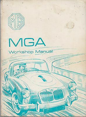 Mg Mga 1500 , Mga 1600 & Mga 1600 Mk2 (1955-1962) Original Factory Repair Manual