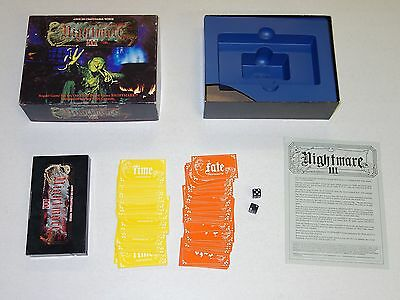 NIGHTMARE 3 VHS VIDEO BOARD GAME COMPLETE III (on YOUTUBE)