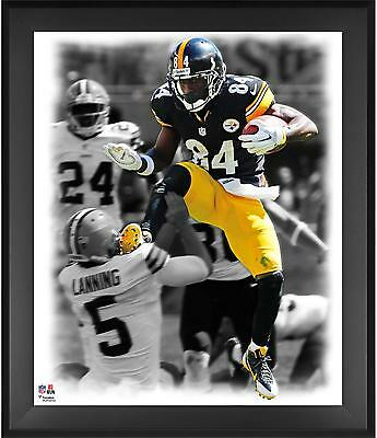 """Antonio Brown Pittsburgh Steelers Framed 20"""" x 24"""" In the Zone Photograph"""