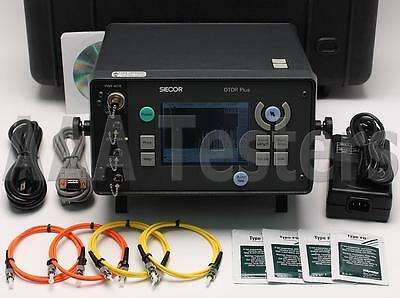 Siecor Corning OTDR Plus 383-MD55-SRSD55 SM MM Fiber w/ Power Meter 383-MD55