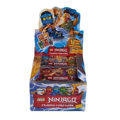 Lego Ninjago Trading Cards Booster Packs Various Quantities Fast Shipping