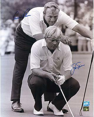 """Jack Nicklaus & Arnold Palmer Autographed 30"""" x 40"""" 1973 Ryder Cup Photograph"""