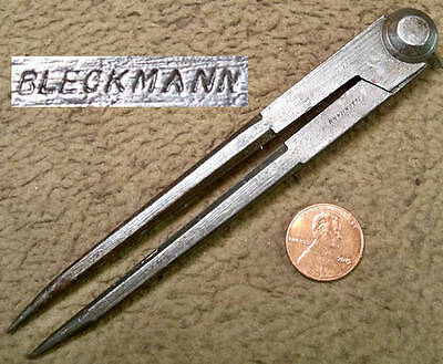 Bleckmann 19th Century 5 Inch Compass or Divider Collectible & Working Tool
