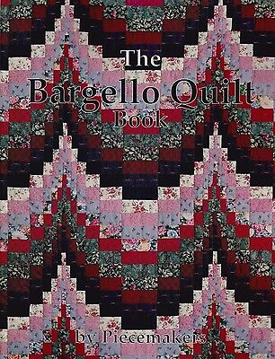 The Bargello Quilt Book - pieced quilt pattern book by Piecemakers