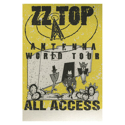 ZZ Top authentic ALL ACCESS 1994 tour Backstage Pass