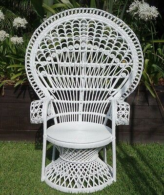 NEW Classic Peacock Chair in Bright White