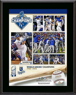 "Kansas City Royals 2015 MLB World Series Champions 10.5"" x 13"" Sublimated Plaque"