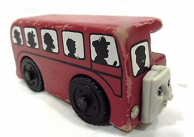 Vintage 1995  Bertie the Bus w/ Passenger Shadows Learning Curve Retired