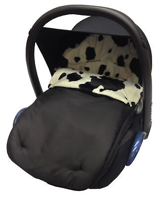 Animal Print Car Seat  Footmuff / Cosy Toes Compatible with Maxi Cosi Cabrio/Peb