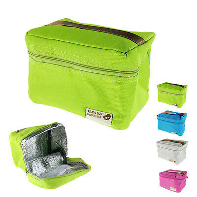 Unisex Convenient Thermal Insulated Lunch Fresh Box Bag Storage Pouch Tote