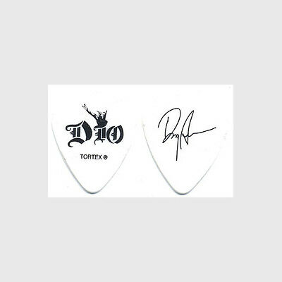 Dio Doug Aldrich authentic 2009 tour Guitar Pick