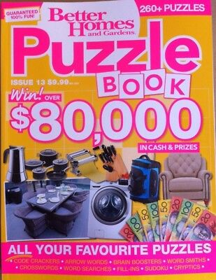Better Homes And Gardens Bhg Puzzle Book: Issue 13 - Latest Edition