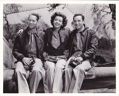 GENE KELLY MARSHA HUNT Original CANDID Vintage 1943 CLARENCE BULL MGM Photo