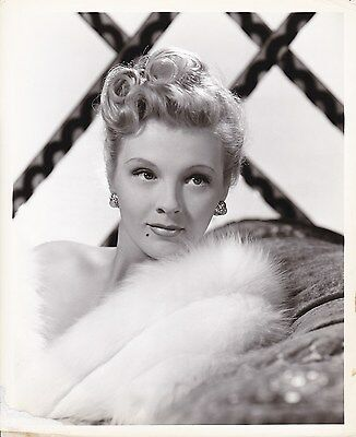 ILONA MASSEY Original Vintage 1946 CLARENCE BULL MGM Stamped Portrait Photo