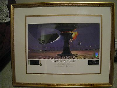 DEATH STAR MAIN REACTOR #964 STAR WARS  Ralph McQuarrie signed Lithograph