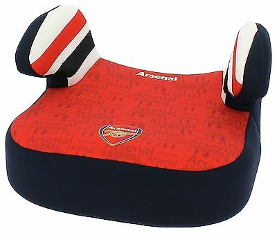Team Tex Dream Arsenal Group 2-3 Low Back Booster Seat - Red -From Argos on ebay