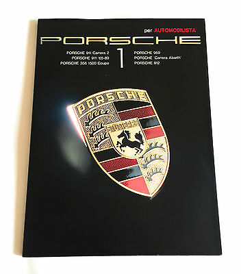 PORSCHE 1 per AUTOMOBILISTA JAPAN PHOTO BOOK 1990 911 Carrera 2 356 1500 Coupe
