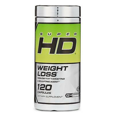 NEW Cellucor Super HD Thermogenic Fat Burner 120ct Energy Weight-Loss Burns Fat