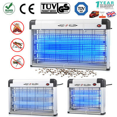 UV Electric Bug Zap Insect Fly Killer Grid Pest Remover Flying Restaurant Cafe