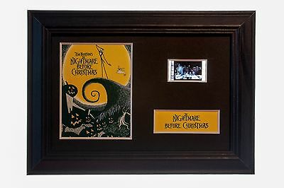 Nightmare Before Christmas - 6x4 Framed movie film cell display, Nice Gift