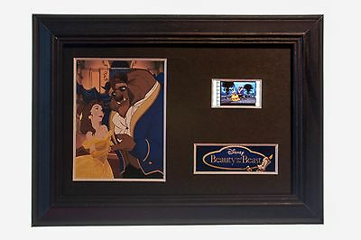Beauty And The Beast - 6x4 Framed movie film cell display, Nice Gift
