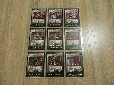 Collingwood Magpies Team 2000 TeamZone AFL TeamCoach Cards Complete Full Set