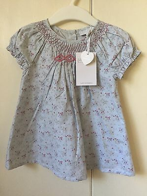 The Little White Company Baby Girls Dress 3-6 Months BNWT