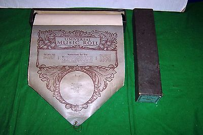 Antique Universal Pianola Music Roll nr S158 Ballade Op. 23 in G Minor by Chopin