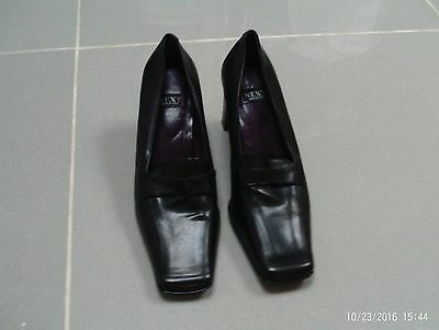New Next Leather Ladies high heels size 6